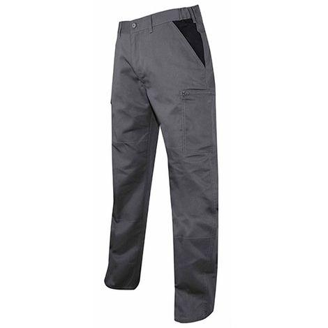 Pantalon multipoches LMA Perceuse Gris / Noir