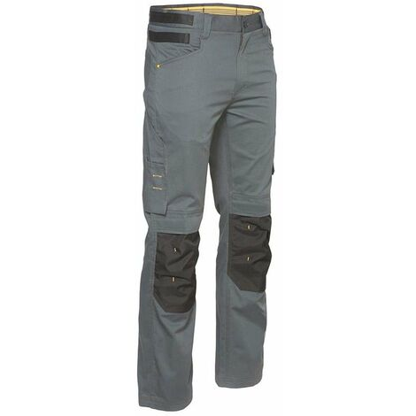 Pantalon multipoches Slim Caterpillar CUSTOM LITE Gris 44