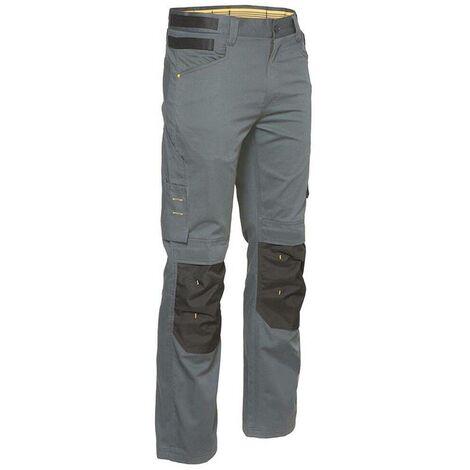 Pantalon multipoches Slim Caterpillar CUSTOM LITE Gris 50