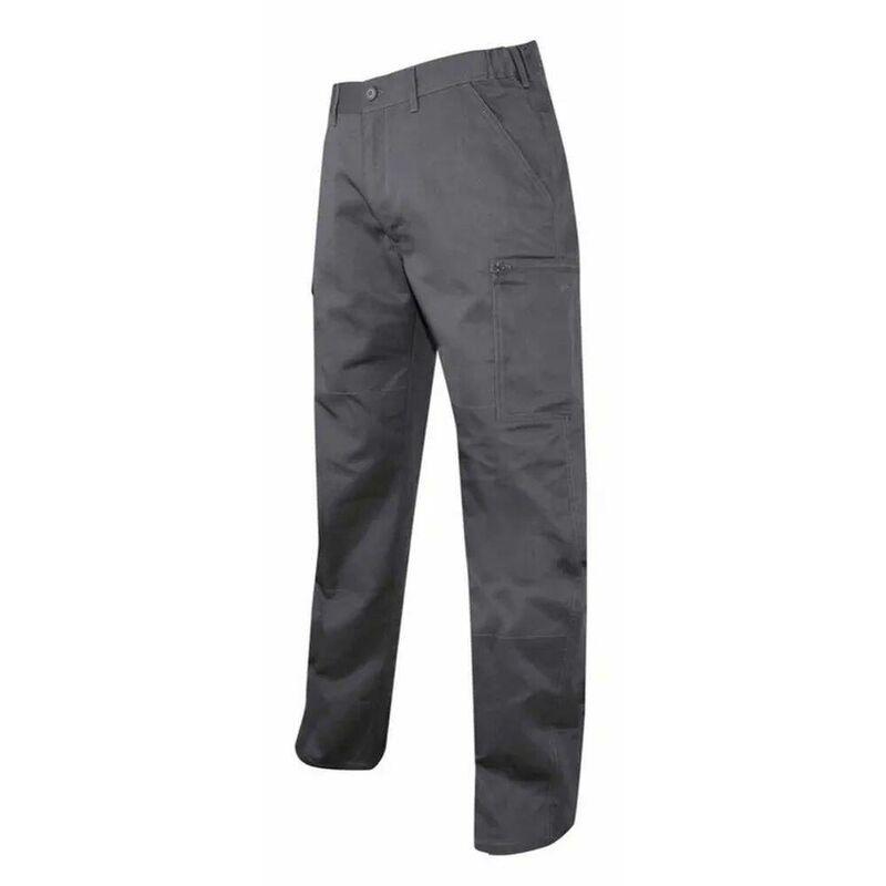 Pantalon multipoches Truelle Gris Foncé 50 - LMA