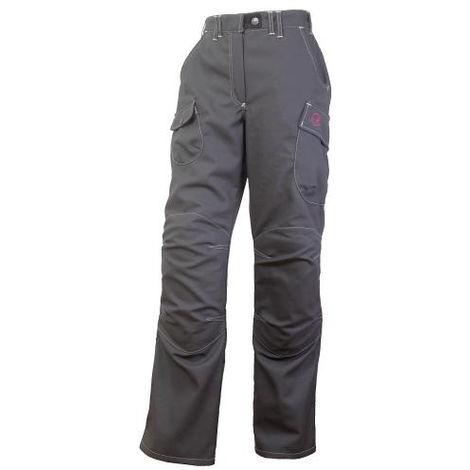 Pantalon multitravaux BOSSEUR Harpoon 3 - Spécial femme - Graphite - Taille 46 - 11113-006