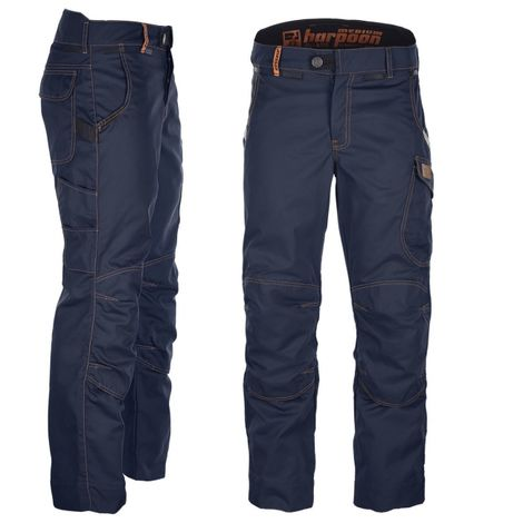 Pantalon multitravaux Harpoon Médium Bleu-marine (40)