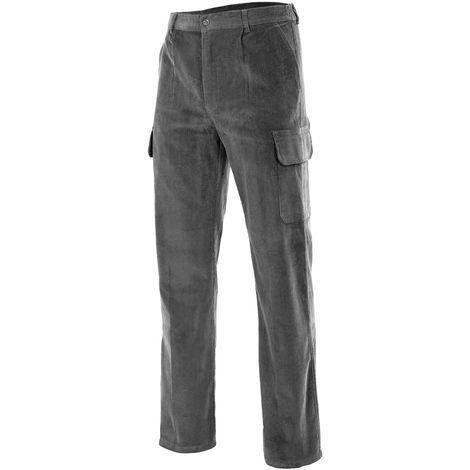 Pantalón pana multibolsillos