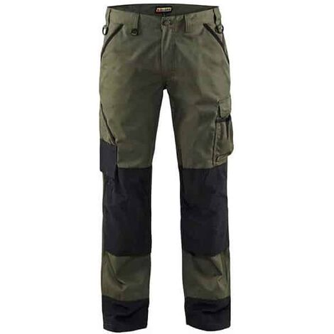Pantalon paysagiste Blaklader en destockage