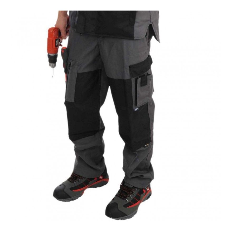 Pantalon PESARO Gris/Noir du 36 au 60 - Kiplay | 36