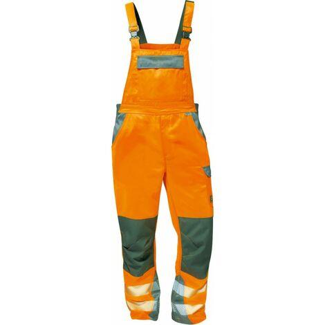 Pantalón peto de alta visibilidad -METZ- y -COLMAR- T50