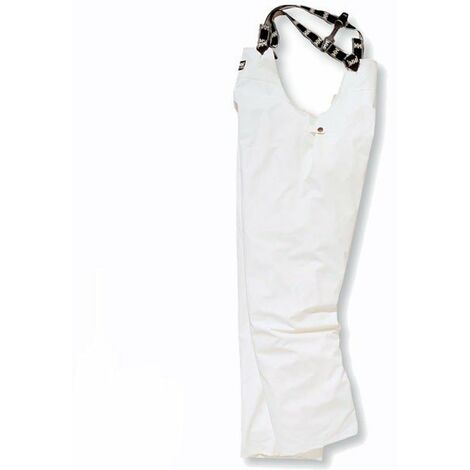 Pantalón peto para pesca (blanco) Tromsoe Bib Helly Hansen 70400