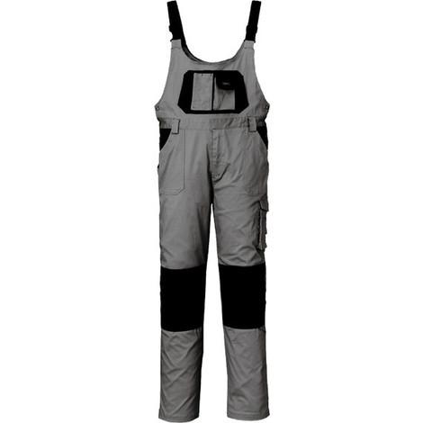 Pantalón Peto Stret Gris/Negro T-XXL