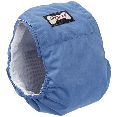 Pantalon Physiologique Pour Chien, Couche Impermeable, Bleu, Xl, 1Pc