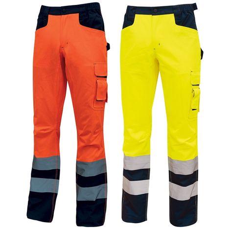 Pantalon rembourré de sécurité haute visibilité U-Power Radiant Orange M