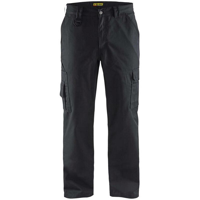Pantalon de travail Services + Multipoches Noir 58 - Blaklader