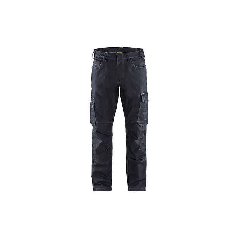 Pantalon service DENIM stretch 2D - 8900 Marine - Blaklader