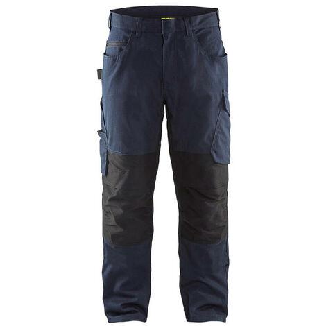 Pantalon service stretch - 8699 Marine foncé/Noir 14951330 - Blaklader