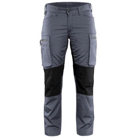 19cf6bfe63 Pantalon service stretch femme - 9499 Gris/Noir - Blaklader