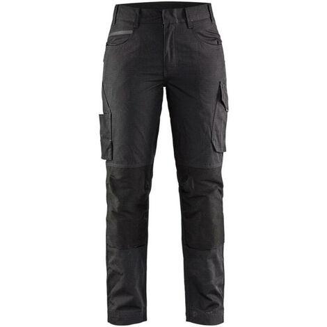 Pantalon service stretch femme - 9998 Noir/Gris Foncé - Blaklader