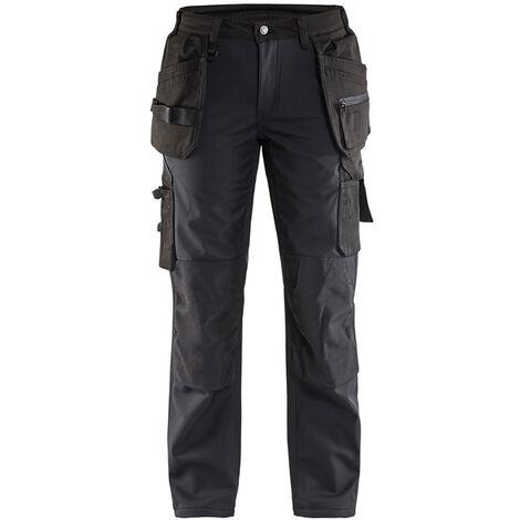Pantalon softshell femme - 9900 Noir - Blaklader