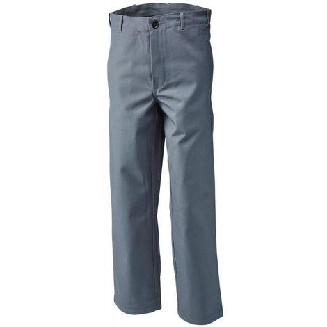 Pantalon soudeur, T.48, 360 g/m2, gris