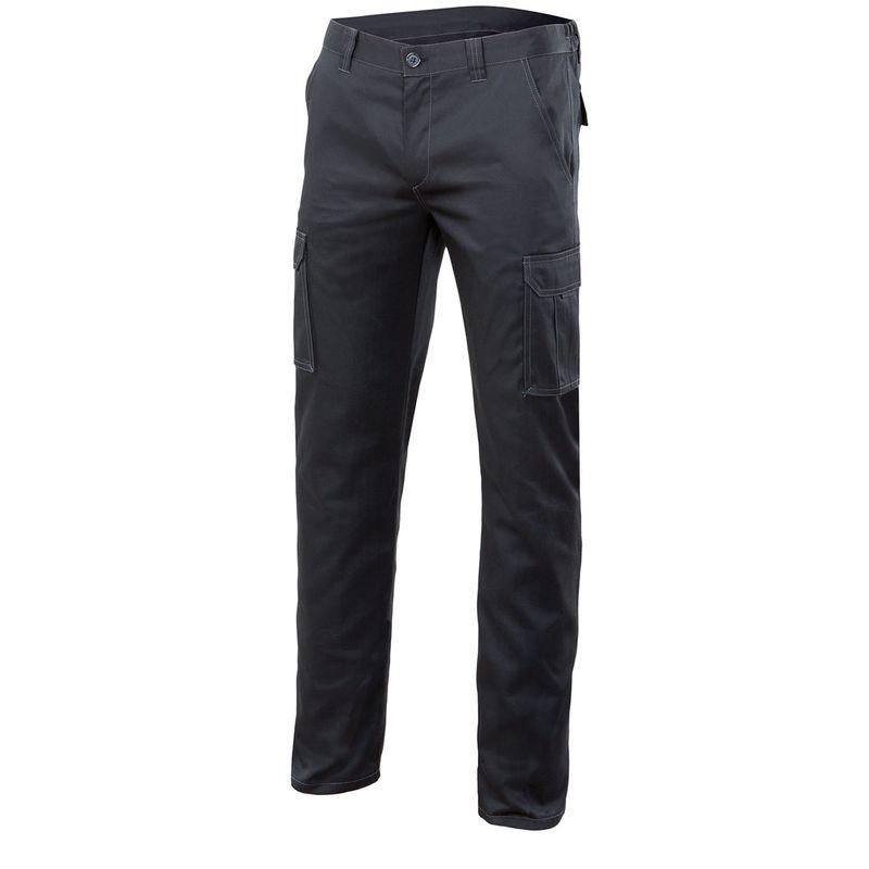 Pantalon Stretch Multibolsillos Negro 38 P103002s038