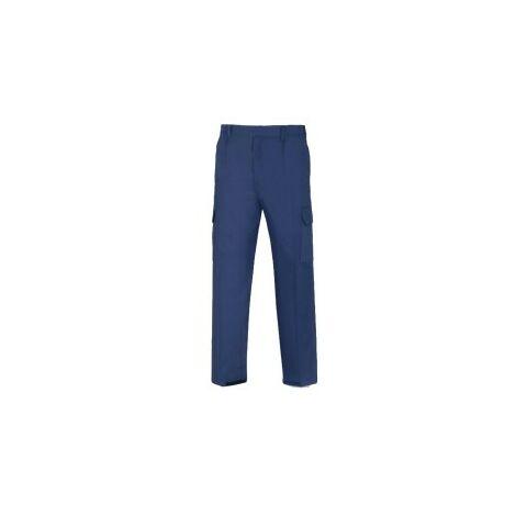 Pantalon tergal marino talla l-44