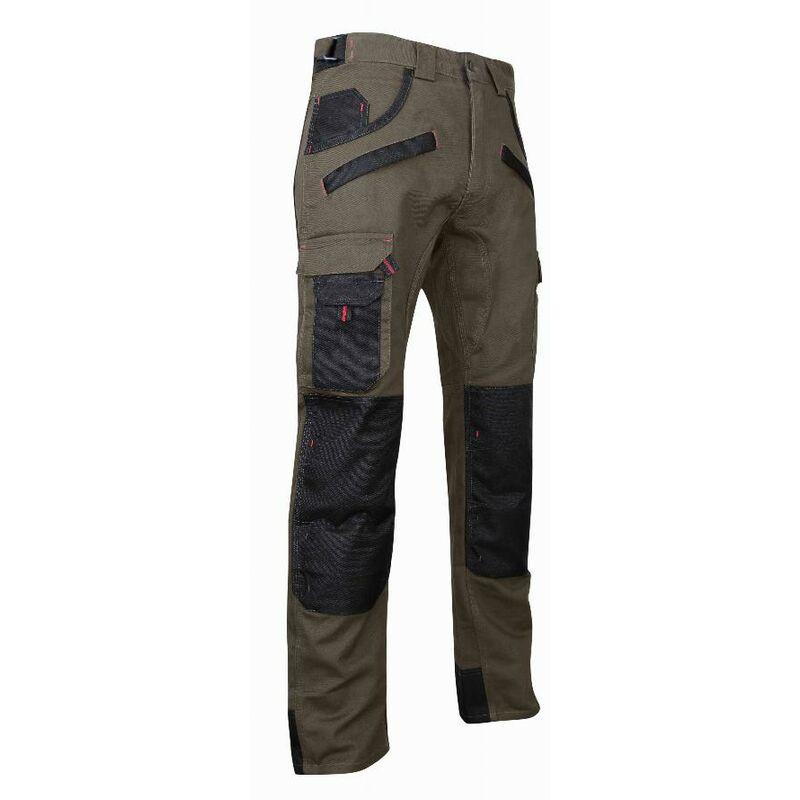Pantalon Tourbe LMA Taupe / Noir - T.58 - 1489 T.58