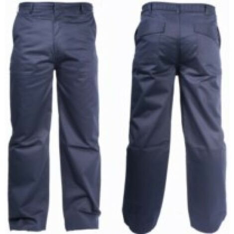 Pantalon trabajo 3xl total alg/fib.antiest az welder ignif w