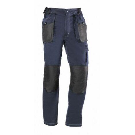 Pantalon Trabajo L 68% Algodon 30% Poliester Azul/Negro 181