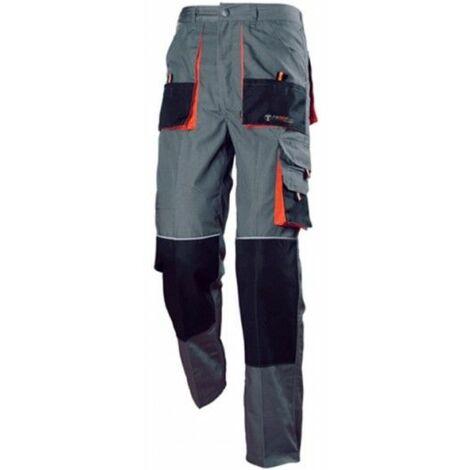 Pantalon Trabajo S Algodon Gris Diamond 3L