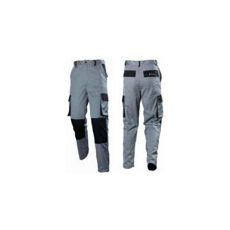Pantalon Trabajo S Total Alg Gr/Neg Stark Stk-200