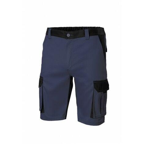 Pantalon Trabajo T42 Corto 65% Poli 35% Alg Aznv/Ne 103021B