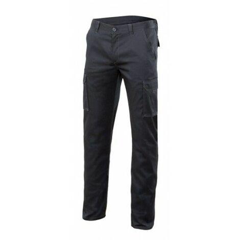 "main image of ""Pantalon Trabajo T42 Elastico Tergal Gris Velilla"""