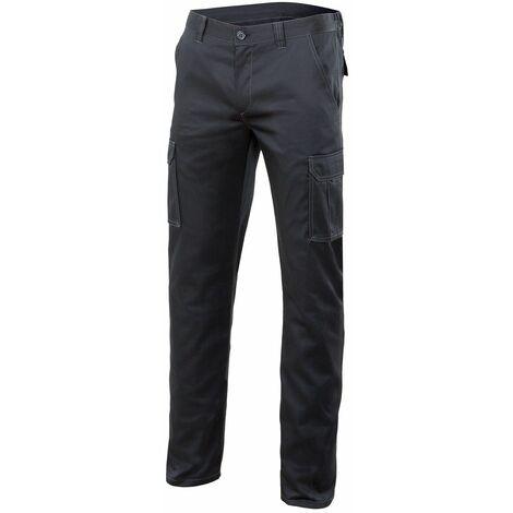 "main image of ""Pantalon Trabajo T44 Elast. Tergal Gr Mltibol Velilla"""