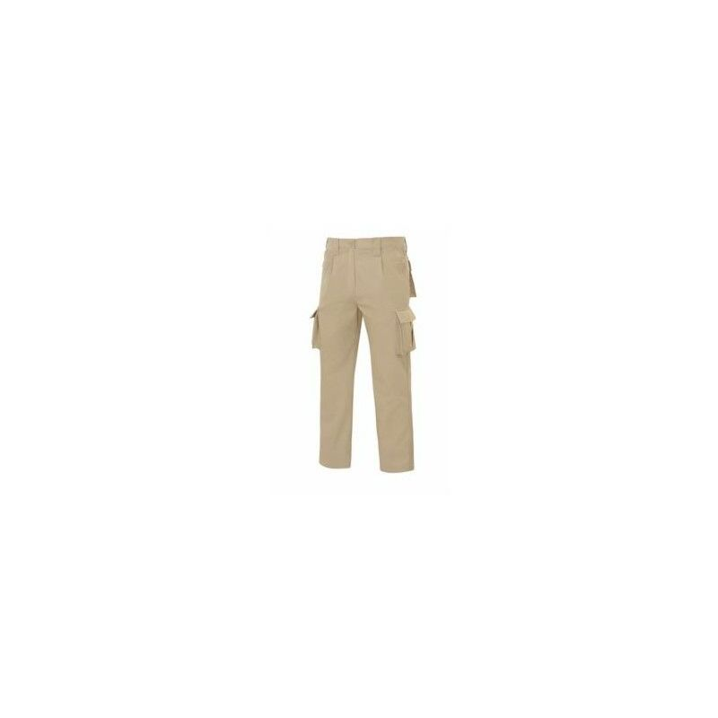 Pantalon Multibols.Tergal Gris 40 Vesin