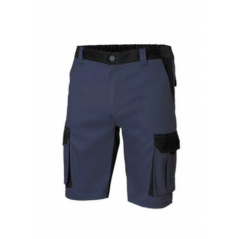 Pantalon Trabajo T48 Corto 65% Poli 35% Alg Aznv/Ne 103021B