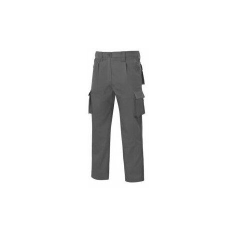 Pantalon Trabajo T48 Elastico Tergal Gris L9000 Vesin