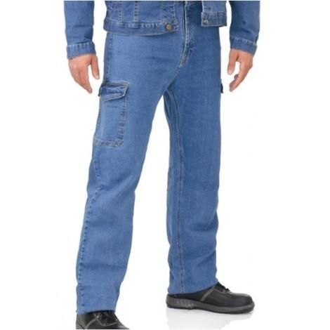 Pantalon trabajo t48 tej.elas. vaquero l5000 mltibol vesin