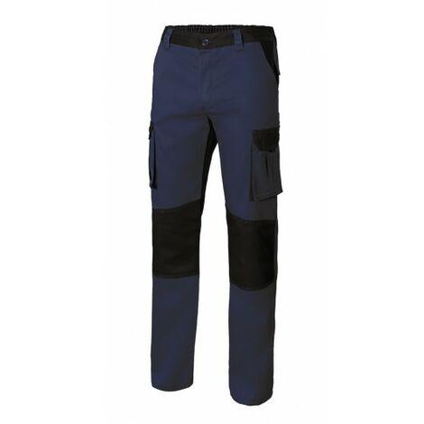 Pantalon Trabajo T50 Con Refuerzo 65% Poli 35% Alg Aznv/Ne