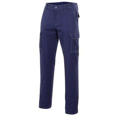 "main image of ""Pantalon trabajo t52 elast. tergal az/mar mltibol velilla"""