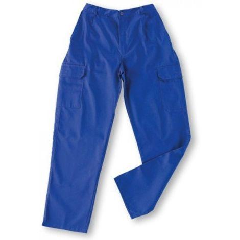 Pantalon trabajo t52 tergal color azulina l500 mltibol vesin