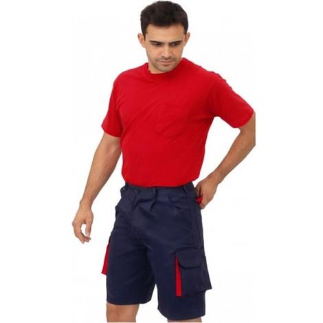 Pantalon trabajo t54 corto tergal az/ro cargo mltibol vesin