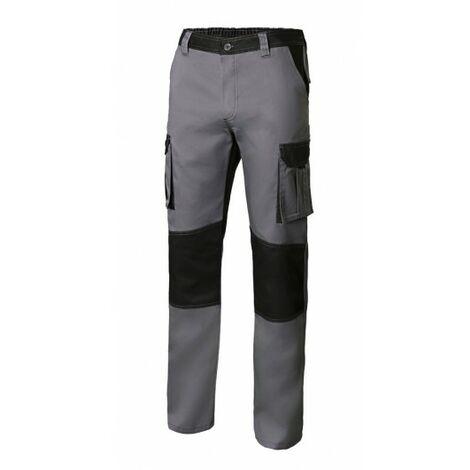 Pantalon Trabajo T56 Con Refuerzo 65% Poli 35% Alg Gr/Neg 1