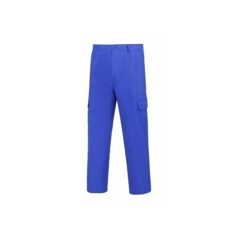 Pantalon Trabajo T60 Tergal Azul L500 Vesin