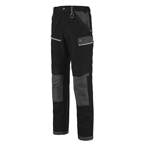 Pantalon travaux lourds Work Attitude 350 - Lafont - Noir contrasté gris - Taille 0