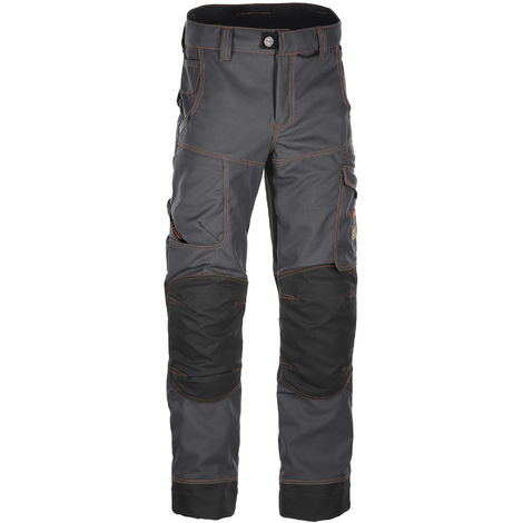 Pantalon Trident Graphite surpiqûres Camel BOSSEUR - T.40 - 11519-003