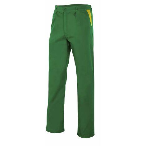 Pantalón verde con pinzas Serie PT349