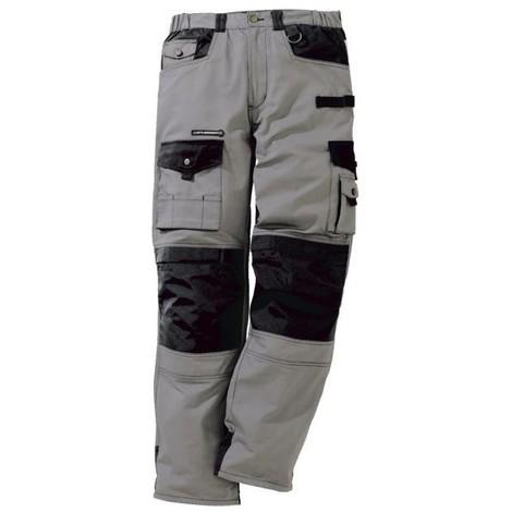 Pantalon work attitude gris taille 0 ou xs -36/38
