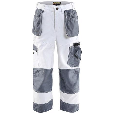 Pantalon X1500 enfant - 1094 Blanc/Gris - Blaklader