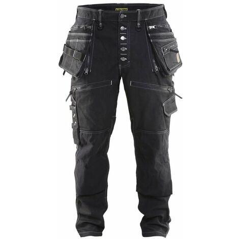 Pantalon X1900 artisan CORDURA® DENIM stretch 2D Blaklader