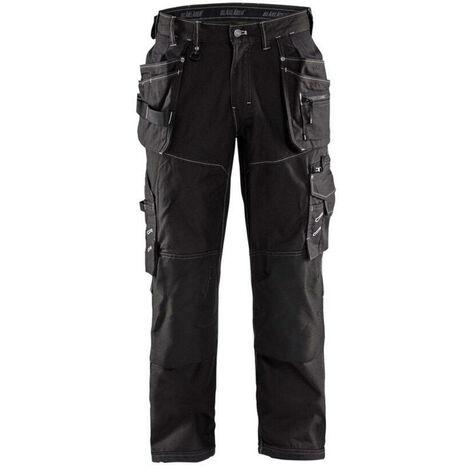 Pantalon X1900 artisan CORDURA NYCO - 9900 Noir 19611146 - Blaklader