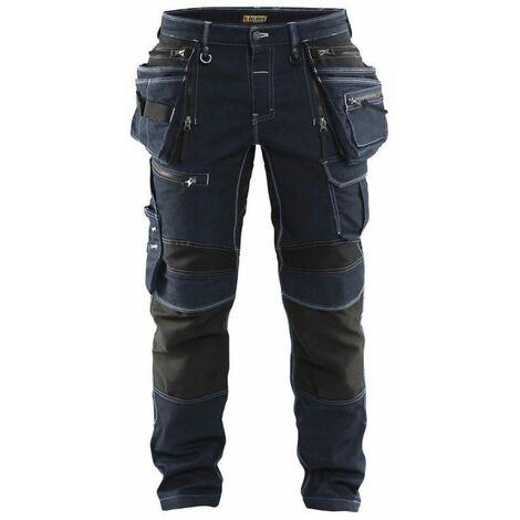 Pantalon X1900 artisan stretch 2D - 8999 Marine/Noir - Blaklader