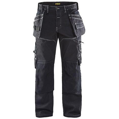 Pantalon X1900 artisan stretch 2D - 9900 Noir - Blaklader